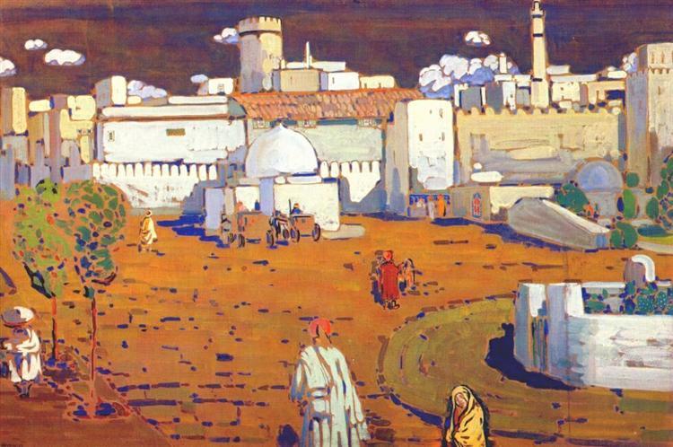 Arab Town, 1905 - Wassily Kandinsky