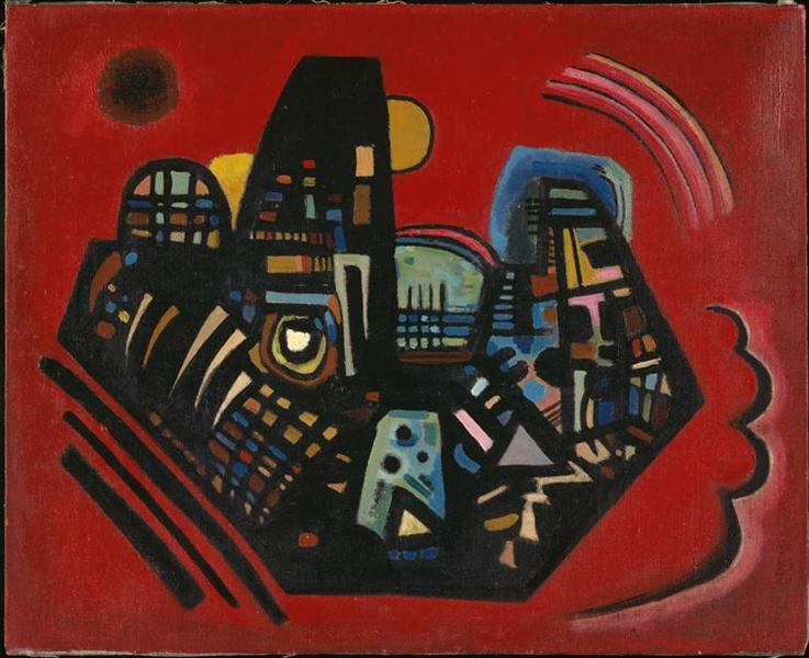 Black-Red, 1928 - Wassily Kandinsky