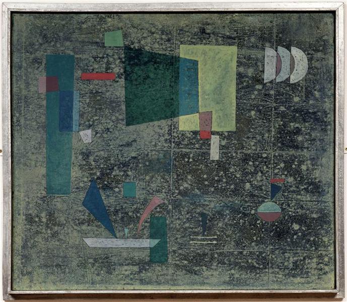 Circulation slowed, 1931 - Wassily Kandinsky
