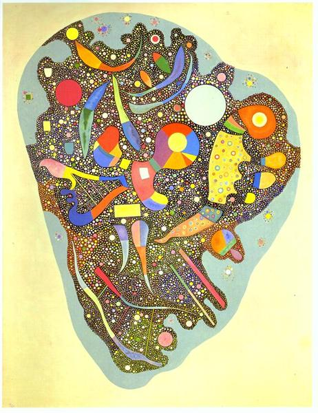 Colourful Ensemble, 1938 - Wassily Kandinsky