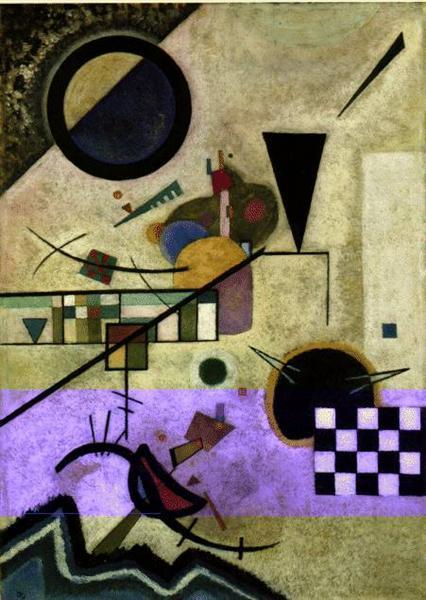 Contrasting sounds, 1924 - Wassily Kandinsky