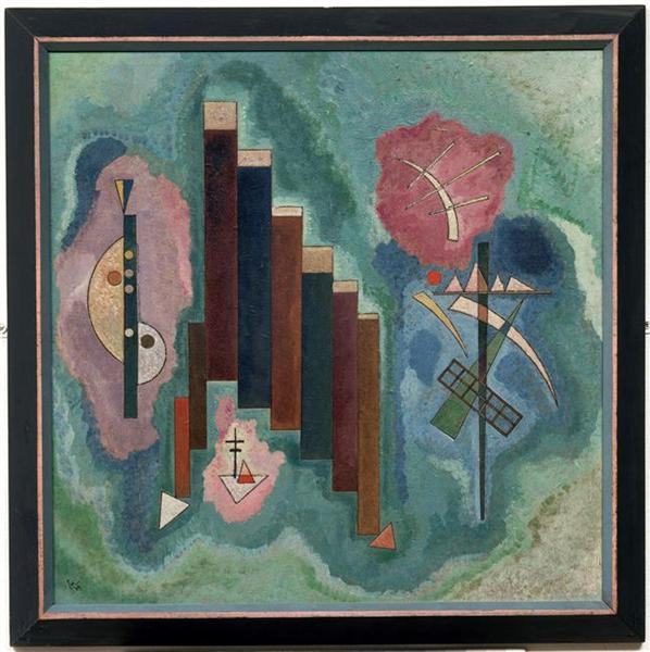 Downwards, 1929 - Wassily Kandinsky