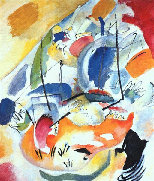 Импровизация 31 (Морской бой), 1913 - Василий Кандинский