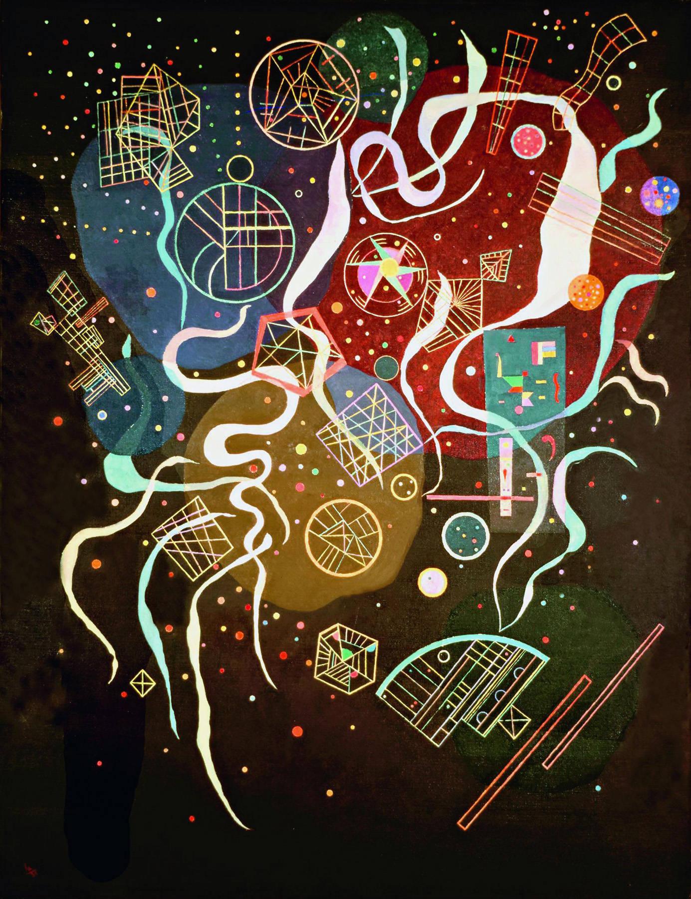 Movement I, 1935 - Wassily Kandinsky - WikiArt.org