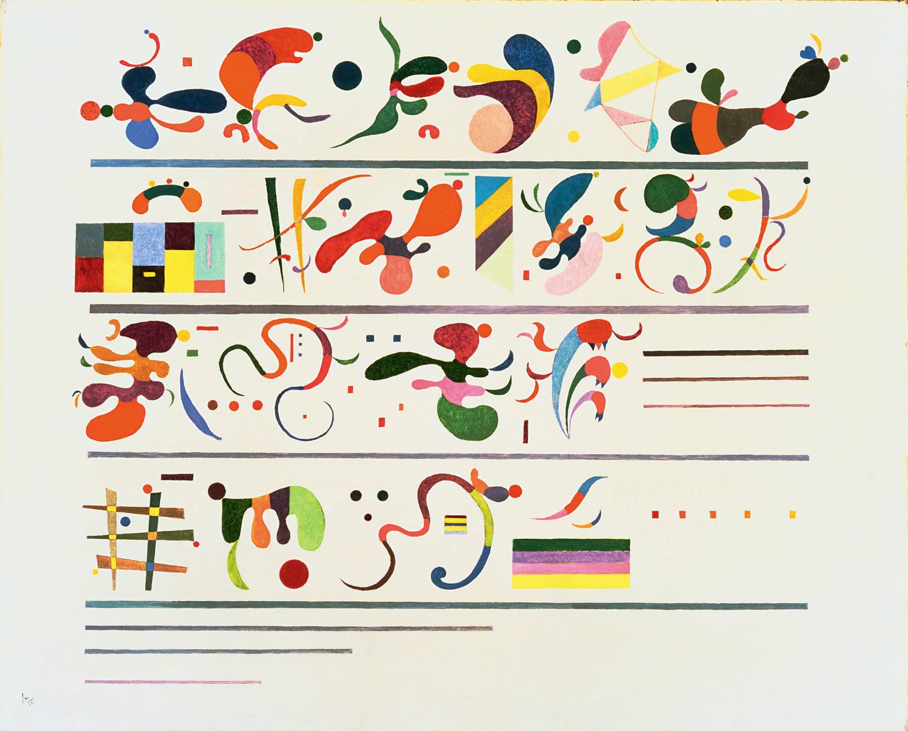 Succession 1935 wassily kandinsky for The craft of musical composition