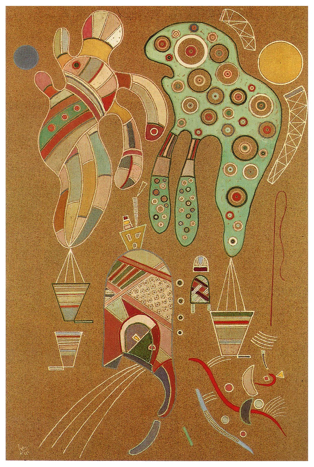 wassily kandinsky Wassily kandinsky was born on december 16, 1866, in moscow, russia his father was a tea merchant and his mother was a homemaker.