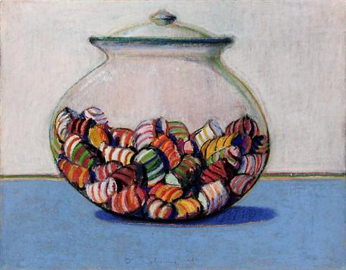 Glassed Candy - Wayne Thiebaud