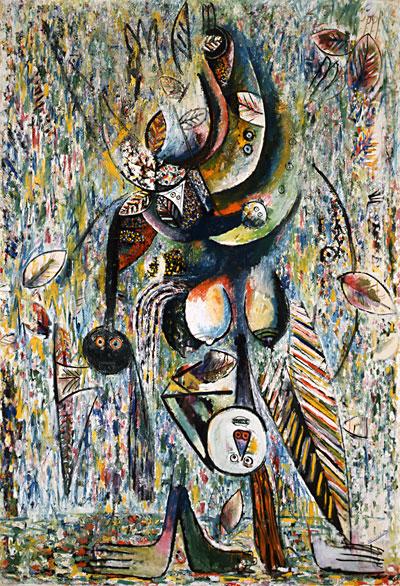 Mofumbe, 1943 - Wilfredo Lam