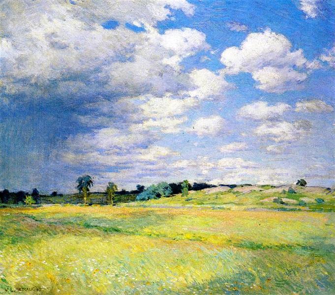 Flying Shadows, 1905 - Willard Metcalf