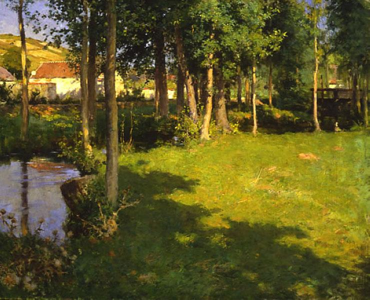 Giverny, 1887 - Willard Metcalf