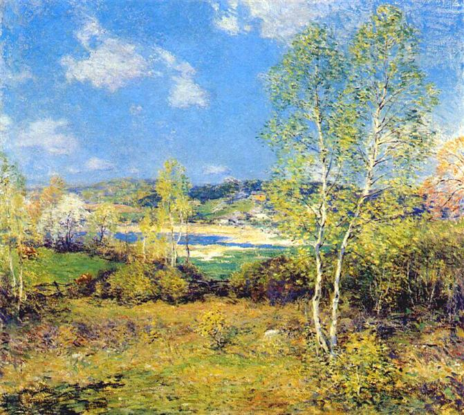 Maytime, 1909 - Willard Metcalf