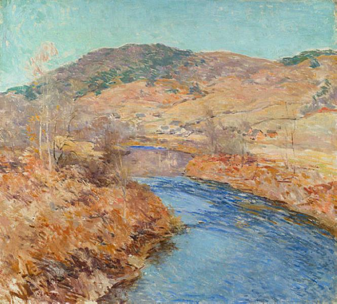 November Morning, 1924 - Willard Metcalf