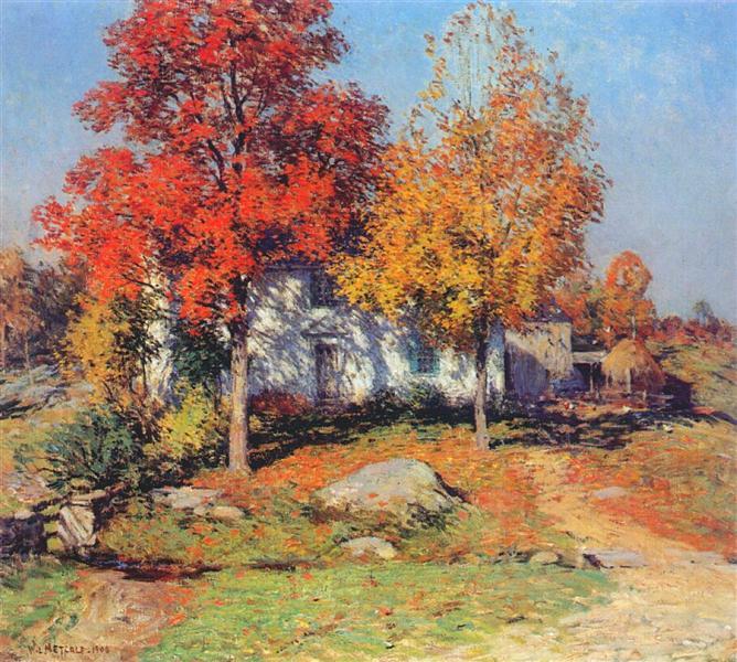 October, 1908 - Willard Metcalf
