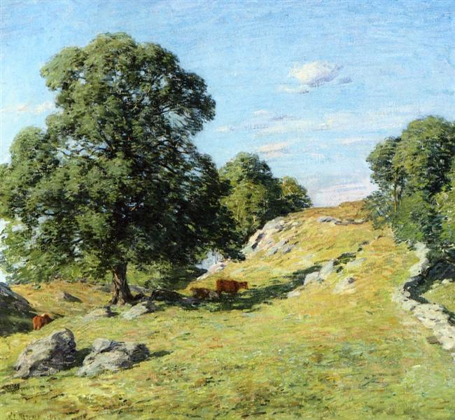 Pasture, Old Lyme, 1906 - Willard Metcalf