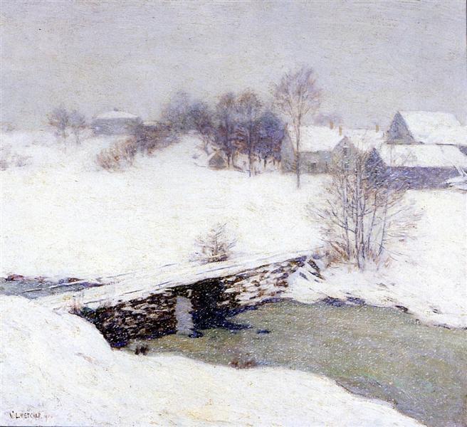 The White Mantle, 1906 - Willard Metcalf