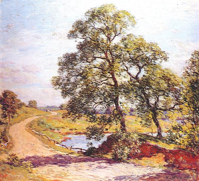 The Winding Road, 1906 - Віллард Меткалф