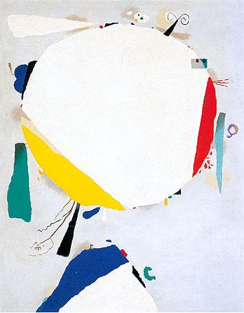Farbspiele, 1952 - Ernst Wilhelm Nay - WikiArt.org