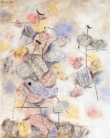 Sun Figures, 1944 - Willi Baumeister