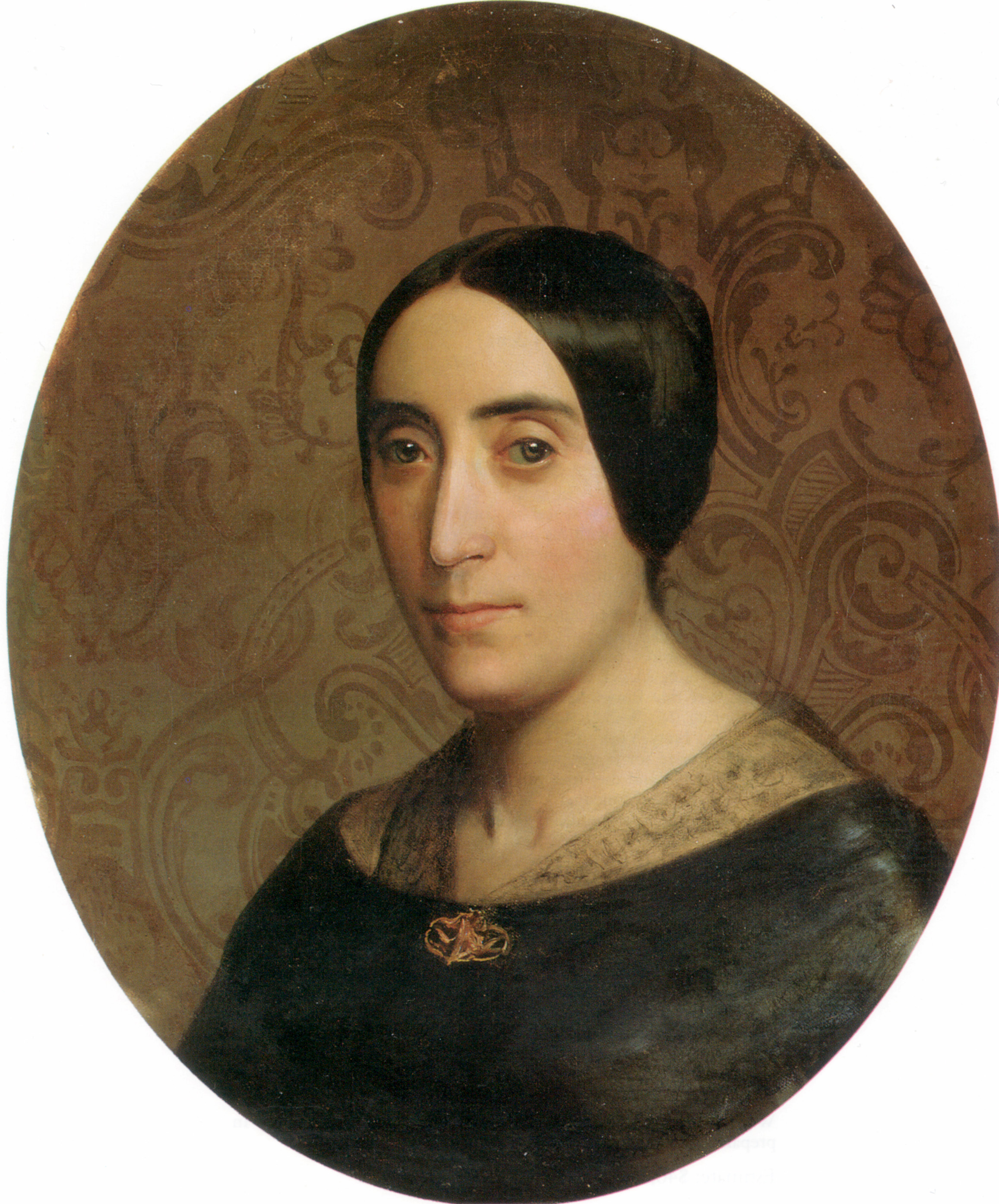 A Portrait of Amelina Dufaud, 1850