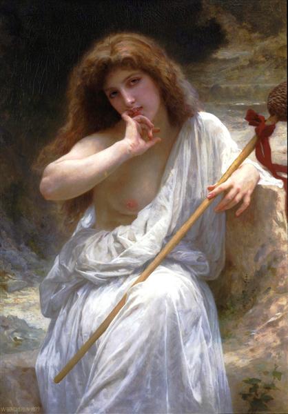 Bacchante, 1899 - Адольф Вільям Бугро