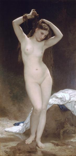 Baigneuse, 1870 - William-Adolphe Bouguereau