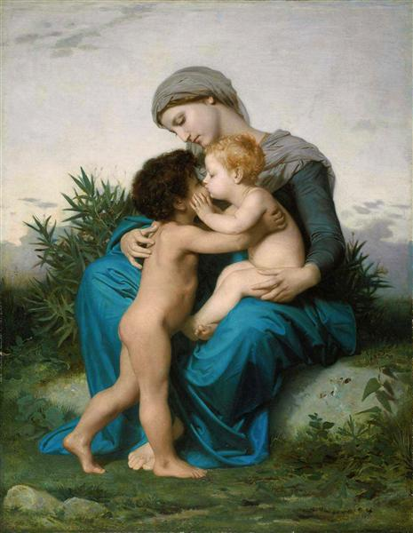 Fraternal Love, c.1851 - William-Adolphe Bouguereau