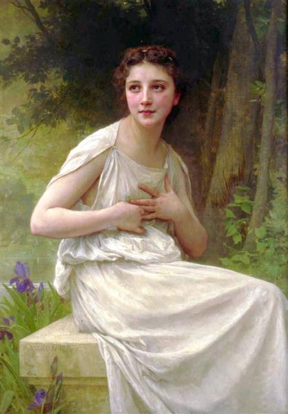 Reflexion, 1897 - William-Adolphe Bouguereau