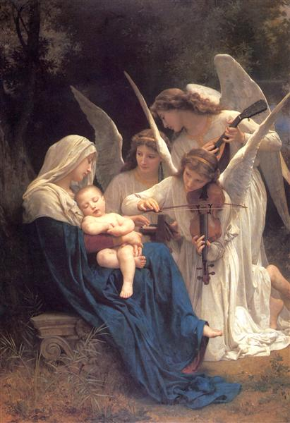 Song of the Angels, 1881 - William-Adolphe Bouguereau