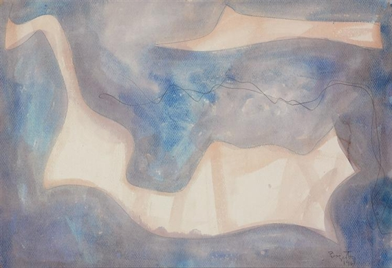 Water Forms, 1961 - William Baziotes
