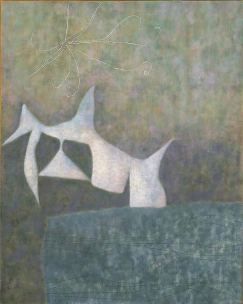 White Bird, 1957 - William Baziotes