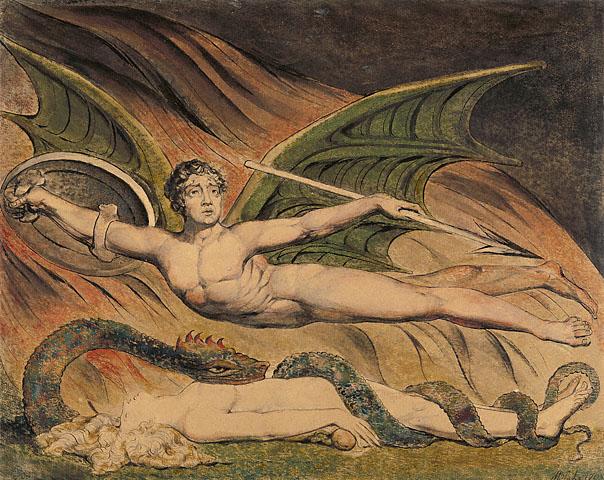 Satan Exulting over Eve, 1795 - William Blake