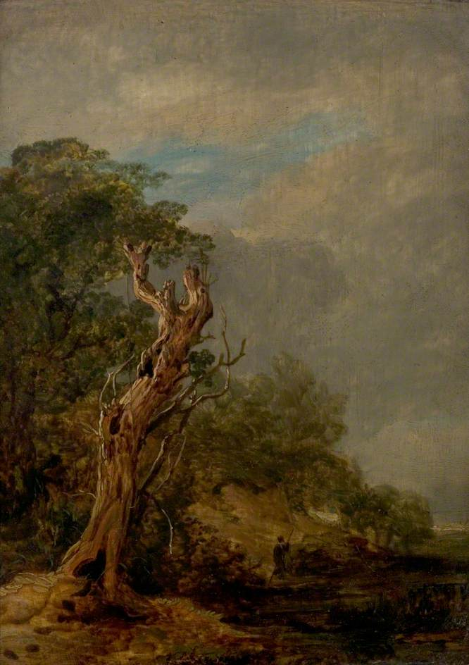The Withered Tree - William Collins - WikiArt.org ...