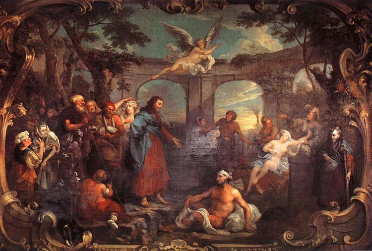 The Pool of Bethesda, 1736 - William Hogarth