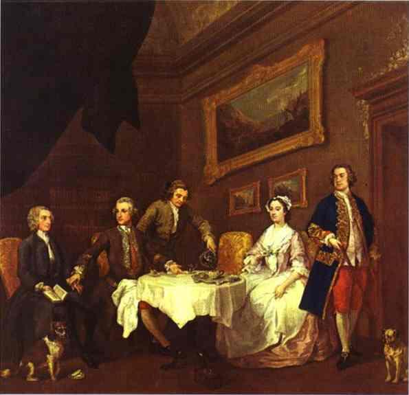 The Strode Family, c.1738 - c.1742 - William Hogarth