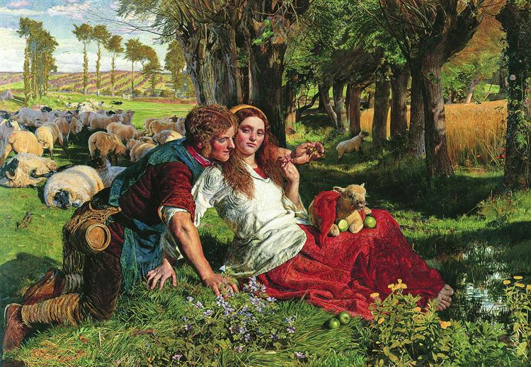 The Hireling Shepherd, 1851 - William Holman Hunt