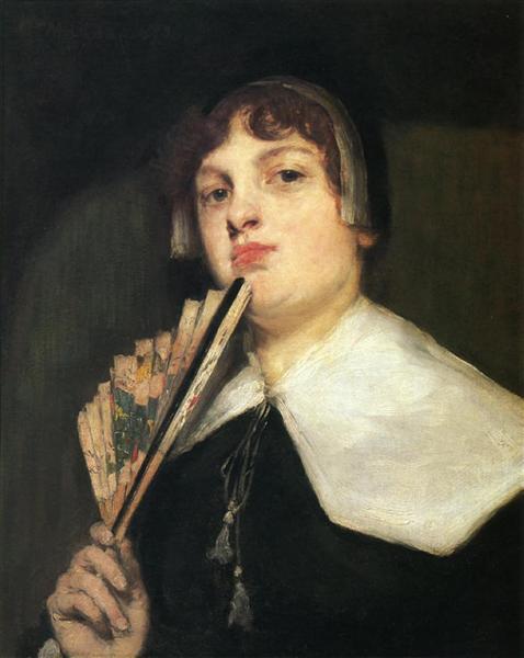 A Coquette, 1912 - William Merritt Chase