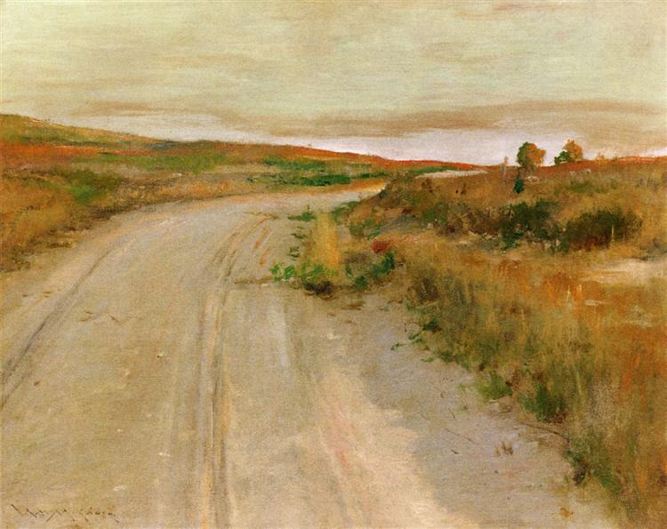 At Shinnecock Hills - William Merritt Chase