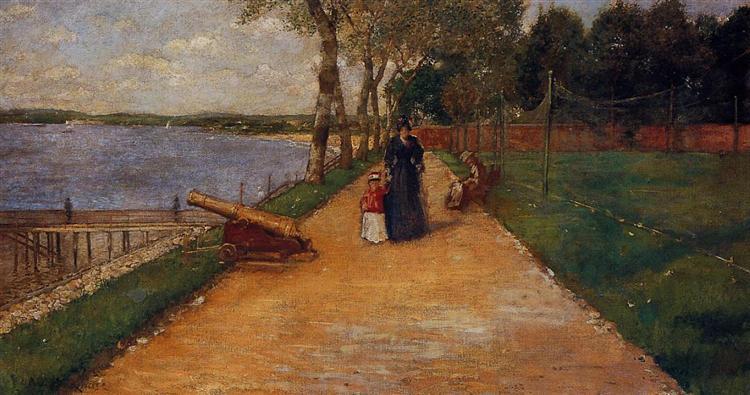 Bath Beach - a Sketch, 1888 - William Merritt Chase
