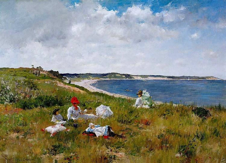 Idle Hours - William Merritt Chase