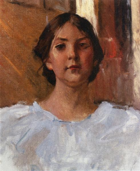 My Daughter Dorothy, c.1904 - Уильям Меррит Чейз