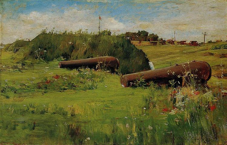 Peace, Fort Hamilton, 1887 - William Merritt Chase