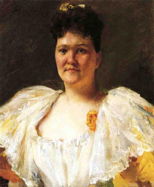 Portrait of a Woman, 1894 - William Merritt Chase