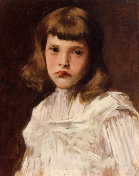 Portrait of Dorothy, c.1901 - William Merritt Chase