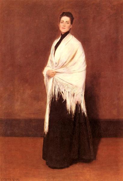 Portrait of Mrs. C, 1893 - William Merritt Chase