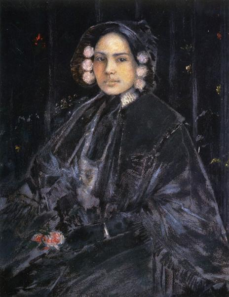 Portrait of Mrs. Julius Erson, 1890 - William Merritt Chase