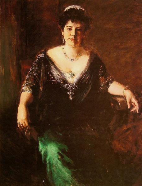 Portrait of Mrs. William Merritt Chase, c.1910 - William ...