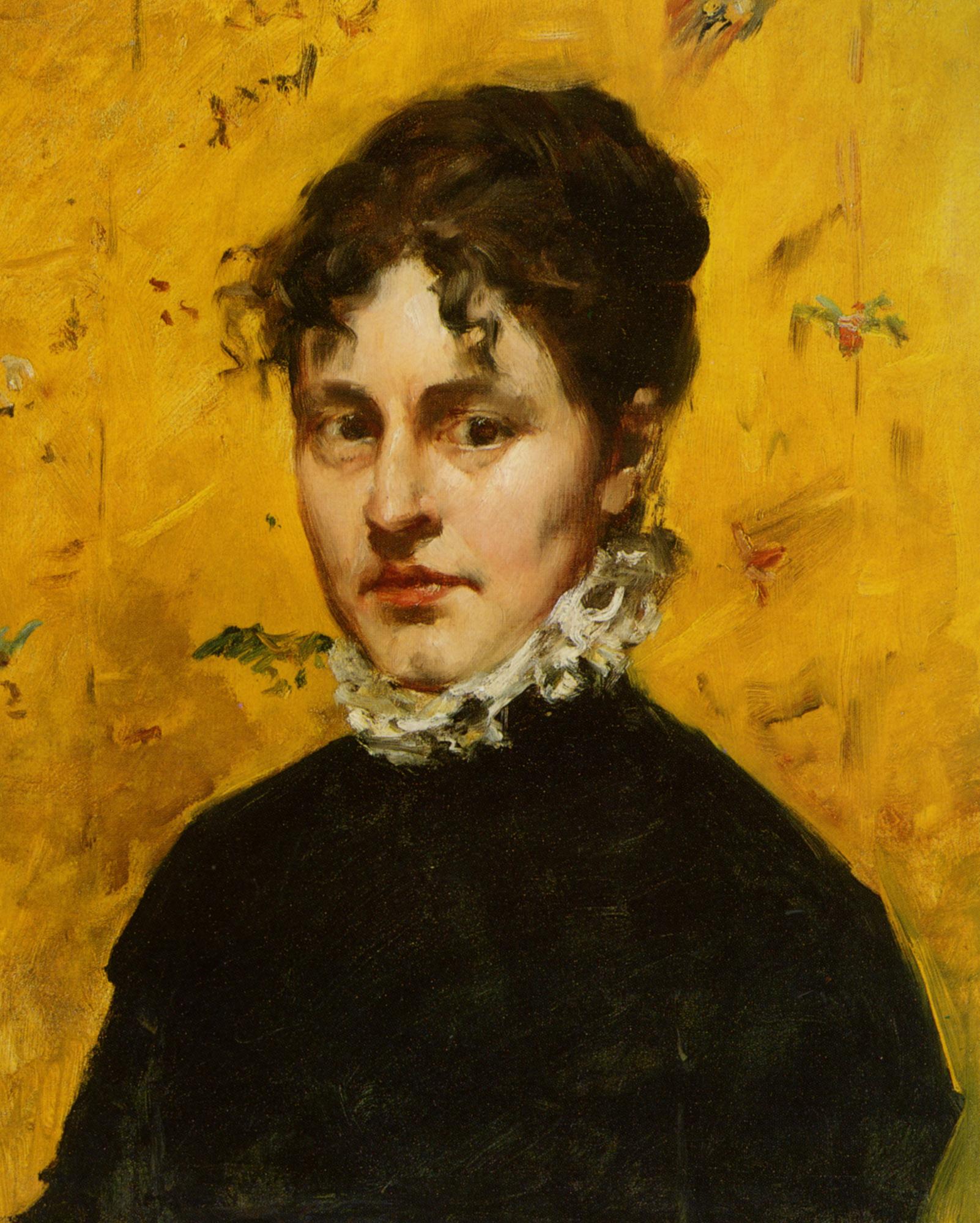 Portrait of the Artist's Sister-in-Law - William Merritt ...