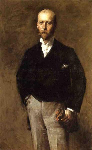 Portrait of William Charles Le Gendre, 1884 - William Merritt Chase