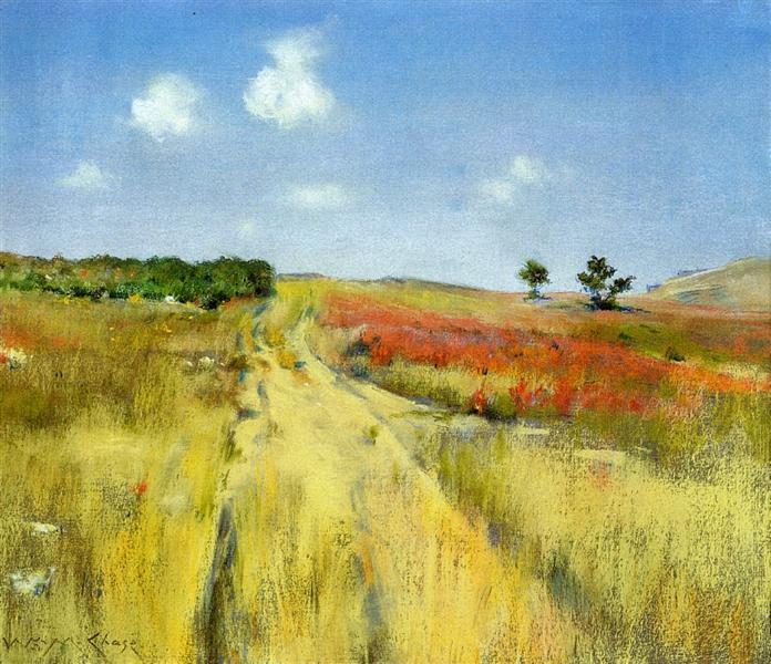 Shinnecock Hills, c.1895 - William Merritt Chase