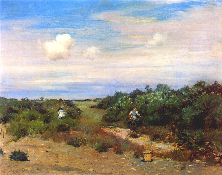 Shinnecock Hills, Long Island, 1895 - William Merritt Chase